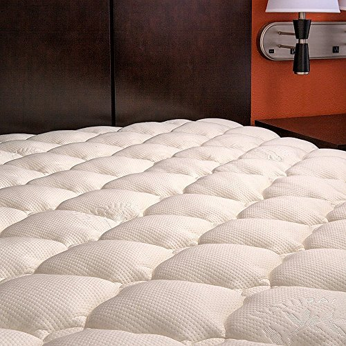 Extra Plush Bamboo Fitted Mattress Topper Local Home Store